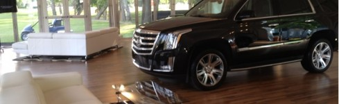 """Behind the Scenes"" designing the 2014 Cadillac Luxury Lounge"