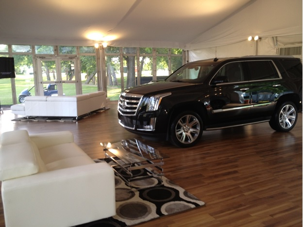 Behind the Scenes designing the 2014 Cadillac Luxury Lounge