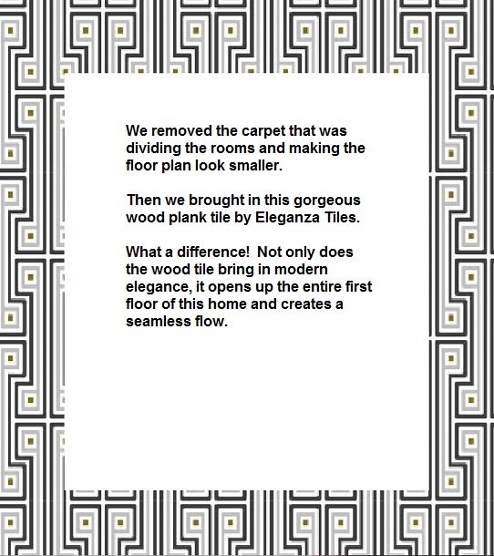 carpet to wood explanation
