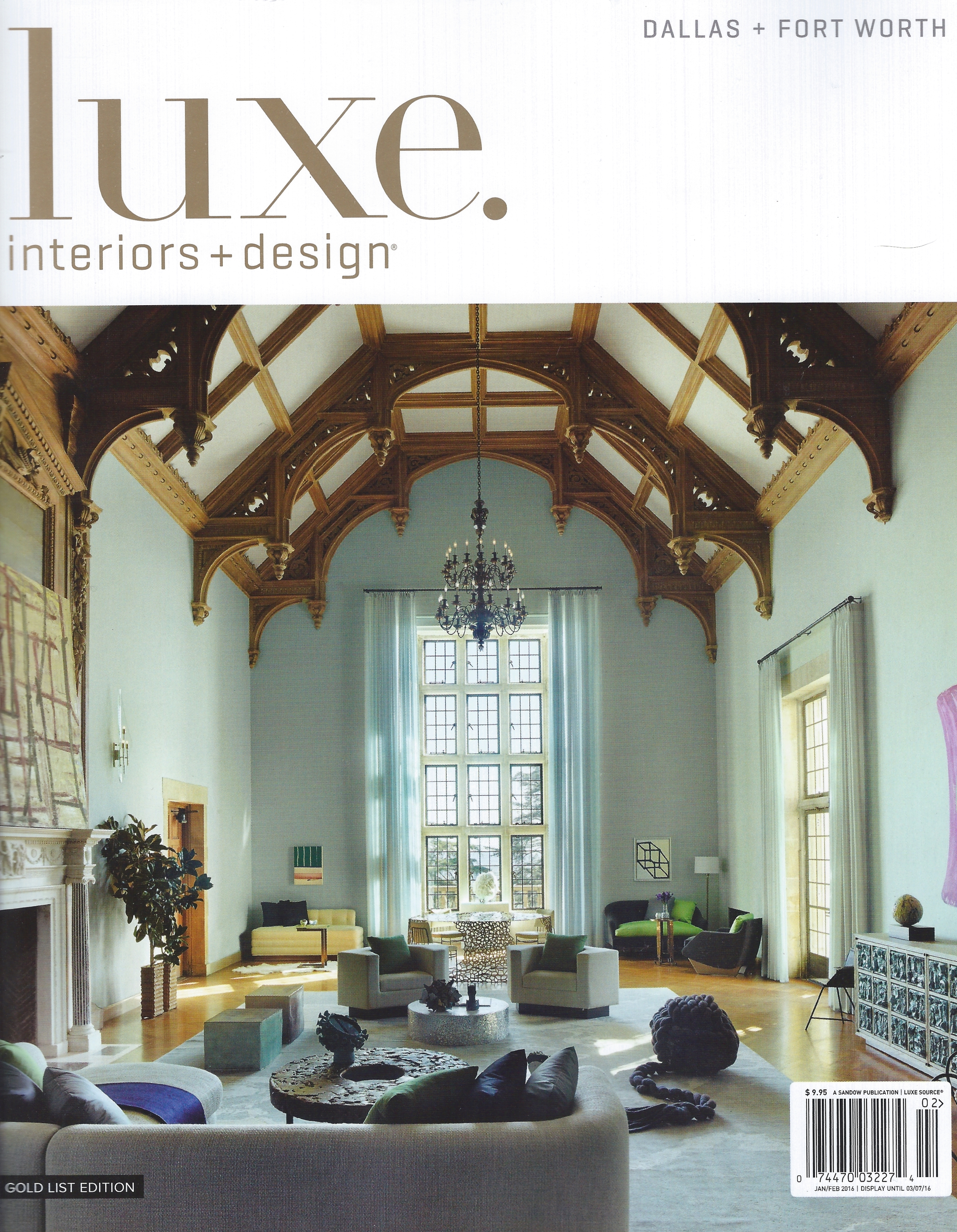 Luxe Jan 2016 cover