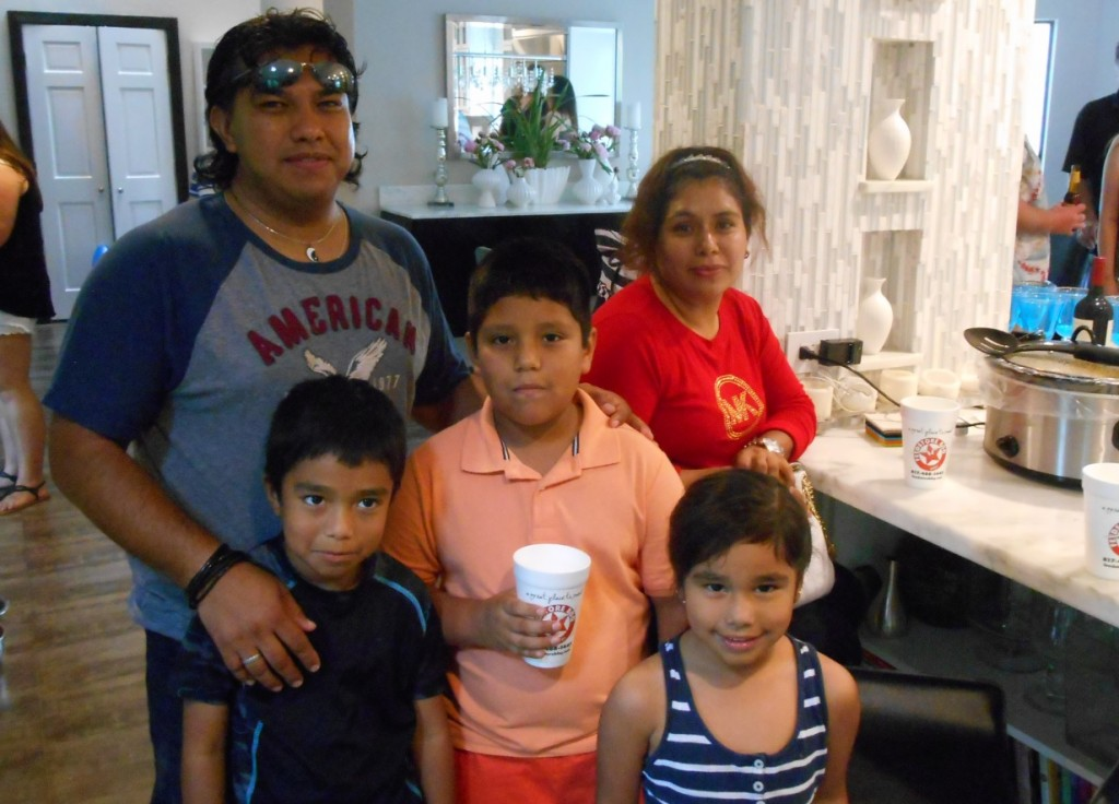 Miguel and family